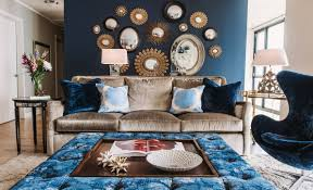 Blue Silver Living Room Designs  Living Room Decorating Ideas Silver And Blue Living Room