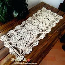 small table cover new arrival flower tea coffee table runner three dimensional flowers table cover scarf small table cover