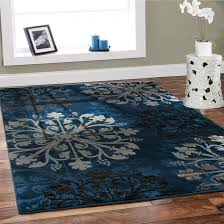 blue and black area rugs black custom printed table cloth cream fabric arm sofa sets relaxed