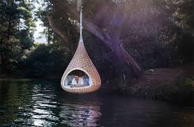 relaxing furniture. Furniture Shaped Nest Offers Cozy Sanctuary, Nestrest Hanging By Dedon Was Perfect Place For Your Relaxation, Meditation Or Just Lazing Outdoors. Relaxing P
