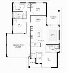 6 luxurius three bedroom house plan