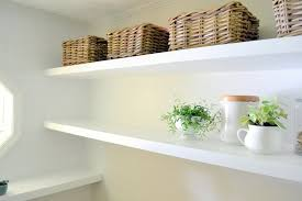 16 Inch Deep Floating Shelves Fascinating Finally How To Create Long Deep Shelves That Aren't Bulky