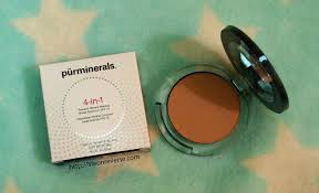 pur minerals 4 in 1 pressed mineral makeup with spf 15 in blush um