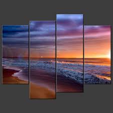 sandy beach quality premium canvas print picture wall art design beach wall art canvas