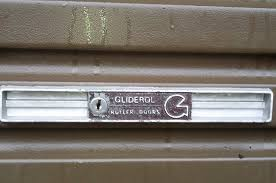 gliderol old style garage door lock and face plate 3938 240 garage door locks keys by