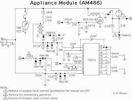 x 10 circuit schematics the appliance module