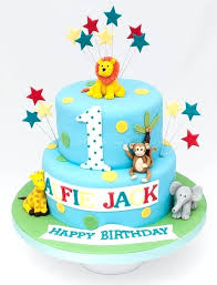 Boy First Birthday 7 Cake Decorating Ideas Fresh Animal Presents 3