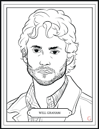 Small Picture Hannibal Returns Tonight Enjoy This Mini Coloring Book About