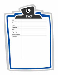 Fax Cover Sheet Letter Template