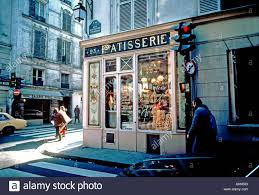 Paris France Boulangerie Patisserie Exterior Old French Bakery