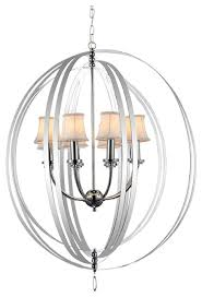 bird cage indoor chandelier contemporary chandeliers by cwi lighting