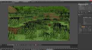 If you want a higher fidelity rendering, including light sources, then you need to use chunky, a if it's missing something, you can click the map tab at the top to go back to the selection section and redo. Minecraft Animation My Grass Has Black Texture After Render How Do I Fix Blender Stack Exchange