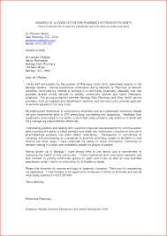 cover letter college student internship  denial letter sample example of a cover letter for pharmacy internship students by cgv17137
