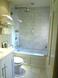 small bathtub shower garden mobile home combo bathrooms ideas space with units ho