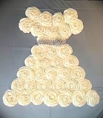 Wedding Dress Cup Cake 1927