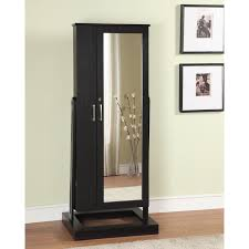 modern standing jewelry armoire