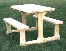 round wood picnic table toddler for toddlers cedar plans wooden tables nea
