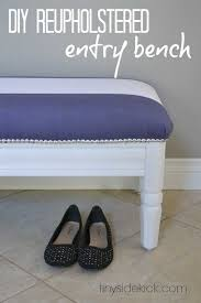diy reupholstered furniture
