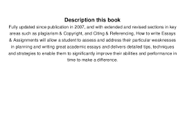 ebook how to write essays assignments kathleen mcmillan full ebook