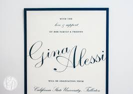 University Graduation Announcements 2013 Cherish Paperie