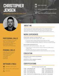 Custom Professional Resume Design Services Orlando Sitecore