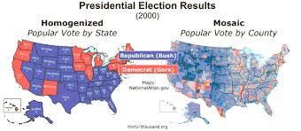 thirty thousand org section ix the electoral college election maps provided by nationalatlas gov