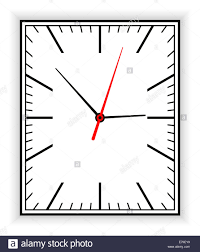 Square Clock Face Template Rectangular Clock Face As Part Of An ...