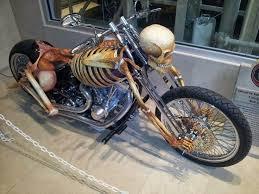 Customized <b>Skeleton Motorcycle</b>