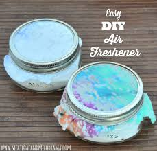 diy air fresheners in mason jars