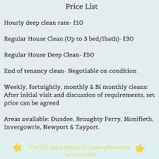 Domestic Cleaning Price List The Elite Cleaning Co Looking For A Domestic Cleaner