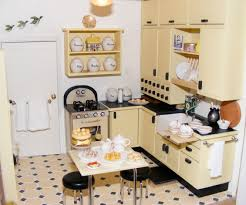Kitchen Dollhouse Furniture The Giant Behind Elf Miniatures Elizabeth Lepla By Christine