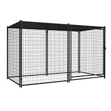 pet sentinel 10 ft x 5 ft outdoor dog kennel preassembled kit