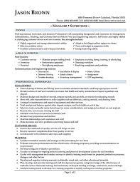 Restaurant Operation Manager Job Descriptionample Floor Resume Cv