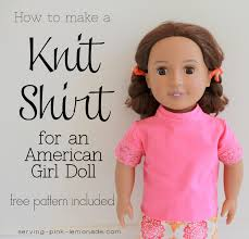 Free Printable American Girl Doll Clothes Patterns New 48 Doll Shirt How To Sew A Piece Of Doll Clothing Sewing On Cut