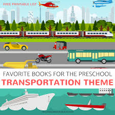 16 pre transportation theme books that we love