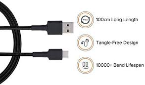 <b>Mi Braided USB Type</b>-<b>C</b> Cable: Amazon.in: Electronics