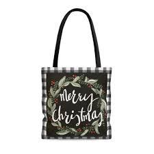 Original Design Bags Tote Bag Merry Christmas