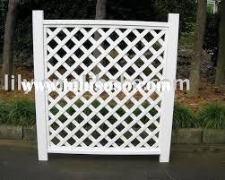 vinyl lattice fence panels. PVC Vinyl Privacy Fencing - Your Fence Store.com: Slats Lattice Panels A