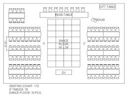 Dj Wedding Reception Planner Template Dinner Seating Chart Template