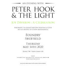 An Evening with <b>Peter Hook</b> & The Light - Joy Division: A Celebration