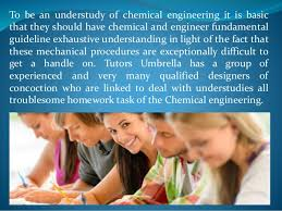 chemical engineering assignment help 3 to be an understudy of chemical engineering
