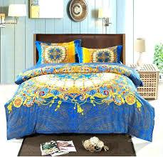 boho quilt set bedding king bohemian set thicken cotton brushed comforter sets quilt cover bedspreads size