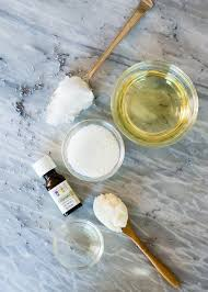 2 tablespoons coconut oil 2 tablespoons beeswax ¼ cup apricot kernel oil or almond oil