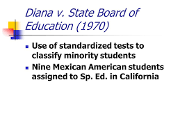 Diana V State Board Of Education Special Education Litigation Key Court Decisions Ppt Download
