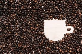 Coffee Cup Shape in Coffee Beans Free Stock Photo | picjumbo
