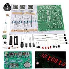 Seasiant India <b>3Pcs DIY</b> 6 <b>Digital</b> LED <b>Electronic</b> Clock: Amazon.in ...