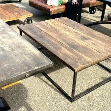 rustic industrial coffee table diy pipe