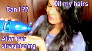 can i oil my hair after hair