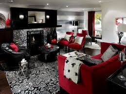 Red Living Room Decorating Black White And Red Living Room Photos Yes Yes Go