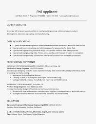 Resume For Mechanical Engg Sample Resume For A Mechanical Engineer